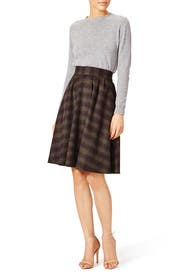 Meadow Plaid Skirt by J.O.A.