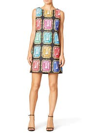 Jeweled Shift by BOUTIQUE MOSCHINO