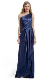 Precious Sapphire Gown by Carmen Marc Valvo