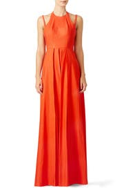 Tangerine Contessa Gown by Alexis