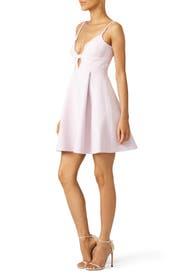Pink Scallop Dress by Giambattista Valli