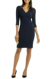 Mix Media Combo Dress by Rachel Roy