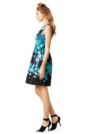 Floating Flowers Dress by Lela Rose