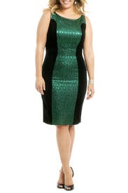 Fame For Fame Sheath by Badgley Mischka