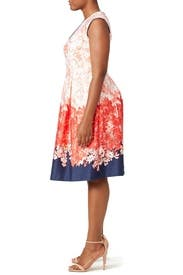 Floral Coral Dress by Slate & Willow