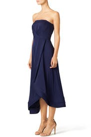 Navy Estella Dress by Shoshanna