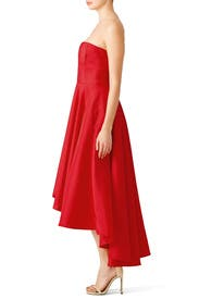 Red Dark Charm Gown by allison parris