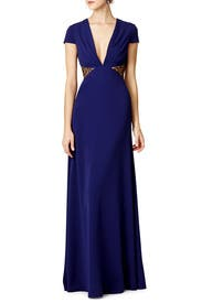 Side Part Gown by Jill Jill Stuart