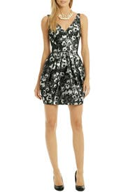 Bubble Floral Pop Dress by Vera Wang