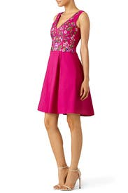 Bloom Bodice Cocktail Dress by Marchesa Notte