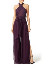 Purple Robbins Jumpsuit by Rachel Zoe