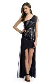 Malia Tulle Sequin Gown by BCBGMAXAZRIA
