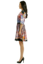 Flora Repeat Dress by Alberta Ferretti