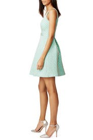 Mermaid Jacquard Svetlana Dress by Shoshanna