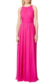 Corundum Tourmaline Gown by Badgley Mischka