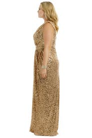 Golden Hour Gown by Badgley Mischka