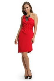 Red Hot Dress by Haute Hippie