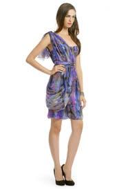 Rubix Sash Dress by Matthew Williamson