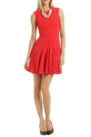Kalyn Godet Dress by BCBGMAXAZRIA