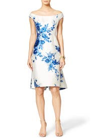 Southern Floral Dress by Lela Rose