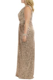 Rolling In The Glitz Gown by Badgley Mischka
