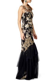 Falling Roses Gown by Marchesa Notte