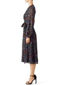 Folk Floral Wrap Dress by Cynthia Rowley