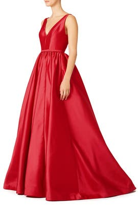 ML Monique Lhuillier - Pomegranate Gown