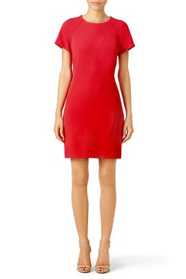 Red Britta Dress by Shoshanna