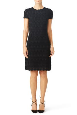 Lurex Fitted Dress by Tory Burch