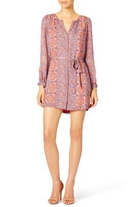 Terracotta Shirt Dress by Joie