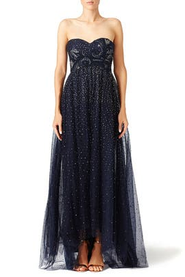 Starry Night Gown by Marchesa Notte