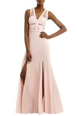 Last Summer Rose Gown by BCBGMAXAZRIA