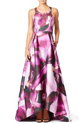 Fuchsia Gown by ML Monique Lhuillier