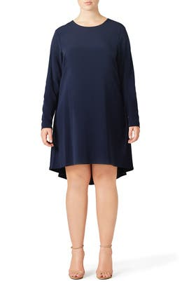 Navy Nordic Dress by nha khanh