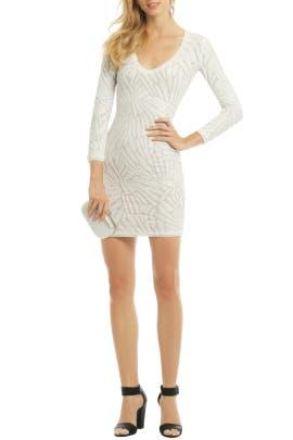 BCBGMAXAZRIA - Mosaic Blanca Dress