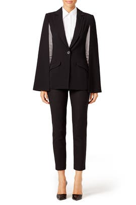 Bee Cape Blazer by Trina Turk