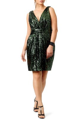 Sequin Garden Dress by Badgley Mischka
