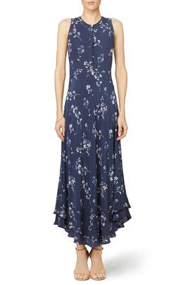 Rebecca Taylor - Rosemary Flame Maxi Dress
