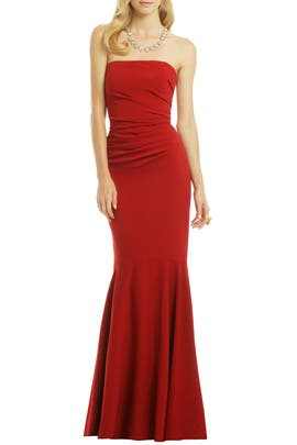 Beauty in a Bottle Gown by Badgley Mischka