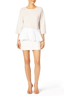 Off White Top by Tibi