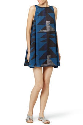 Mara Hoffman - Blue Loom Dress