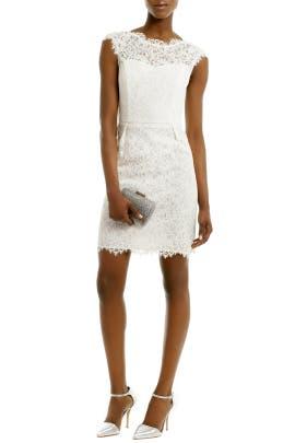 Shoshanna - Ivory Scarlett Dress