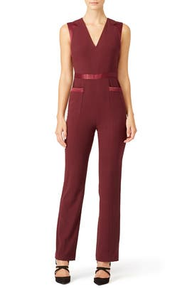 Red Garnet Jumpsuit by Raoul