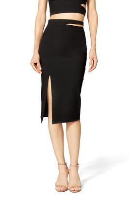 Black Perla Skirt by Elizabeth and James