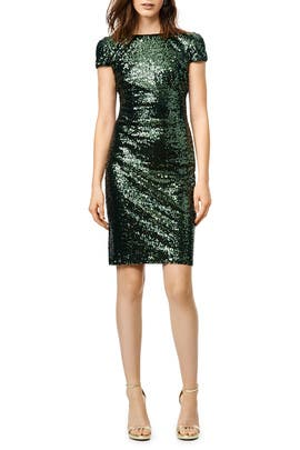 Swank Sequin Sheath by Badgley Mischka
