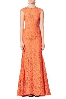 Orange Blossom Gown by ML Monique Lhuillier