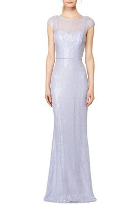 Lilac Petal Gown by Badgley Mischka