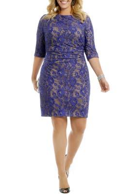 Kay Unger - Blue Beauty Dress