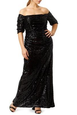 Badgley Mischka - Midnight Stars Gown